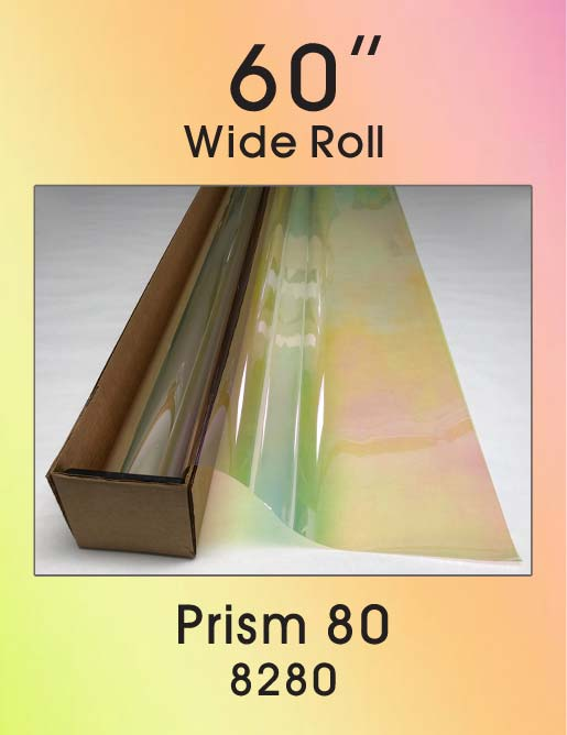 "Prism 80 - 60"" - 8280 - Colored Window Film"