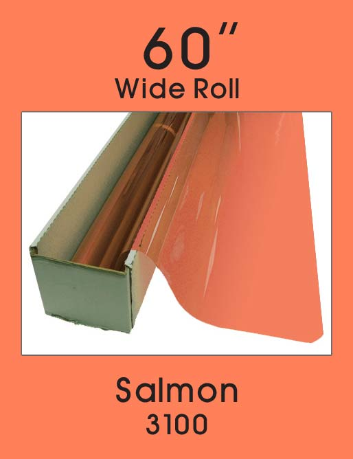 "Salmon 60"" - 3100 - Colored Window Film"