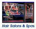 Browse through our Hair Salon & Spa Storefronts and Graphics