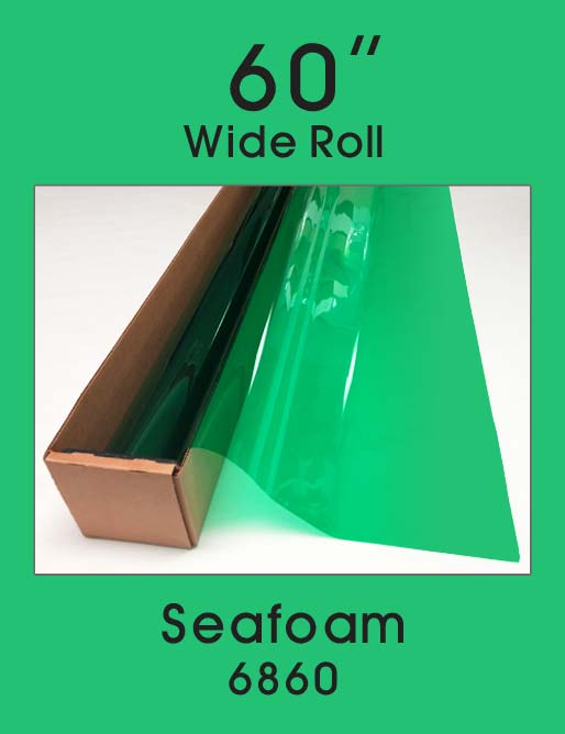 "Seafoam 60"" - 6860 - Colored Window Film"