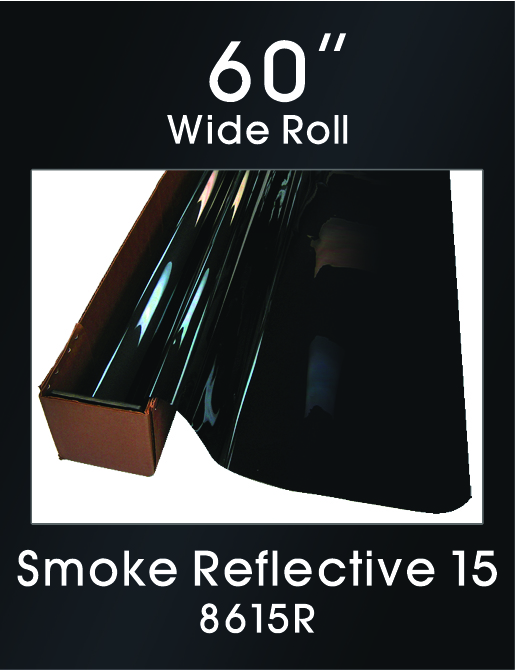 "Smoke Reflective 15 - 60"" - 8615R - Colored Window Film"