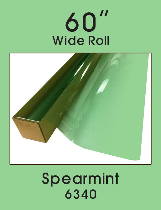 "Spearmint 60"" - 6340 - Colored Window Film"