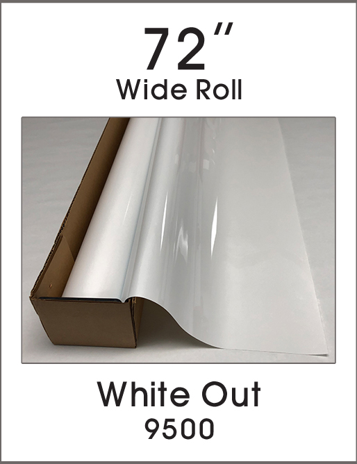 "White Out - 72"" - 9500 - Colored Window Film"