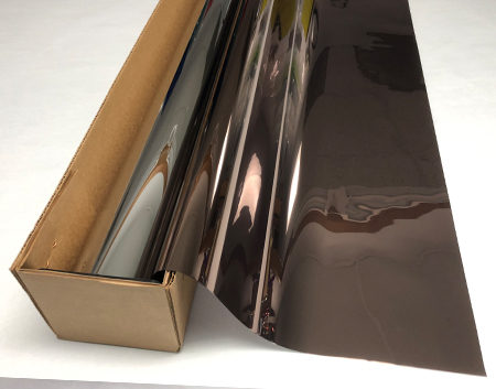 Transparent Colourful Window Film Self-Adhesive Optically Clear Bronze Tint