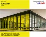 Sunburst Yellow Window Film
